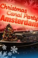 Christmas Canal Party in Amsterdam