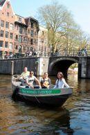 Motor Boat Rally in Amsterdam